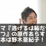 ドラマ『逃げるは恥だが役に立つ』の原作あらすじ。脚本は野木亜紀子!!