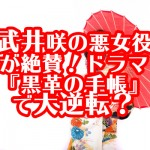 武井咲の悪女役が絶賛!ドラマ『黒革の手帳』で大逆転?