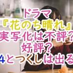 ドラマ『花のち晴れ』実写化は不評?好評?F4とつくしは出る?