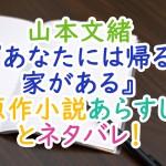 山本文緒『あなたには帰る家がある』原作小説あらすじとネタバレ!