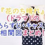 花のち晴れ(ドラマ)のあらすじ・キャスト・相関図まとめ!