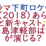 ドラマ下町ロケット2(2018)あらすじと新キャスト。伊丹島津軽部は誰が演じる?