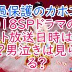 過保護のカホコ2018SPドラマのゲスト放送日時はいつ?男泣きは見られる?